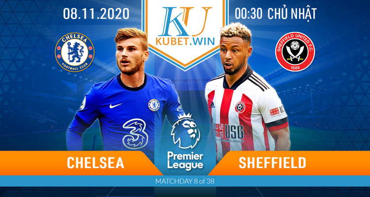 soi kèo Chelsea vs Sheffield 8/11/2020