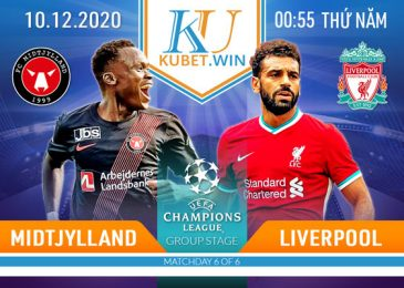 soi kèo nhà cái Midtjylland vs Liverpool 10/12/2020 - Champion League